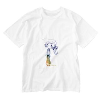 塩対応ちゃん Washed T-shirts