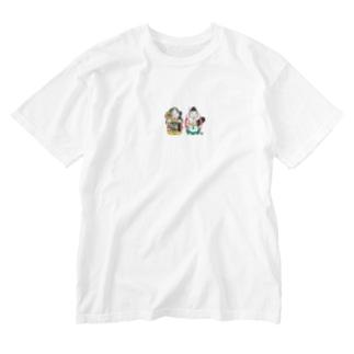 Daikokuten & Ebisu Skate T-shirts Washed T-shirts