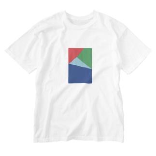 色分け3 シリーズ Washed T-shirts