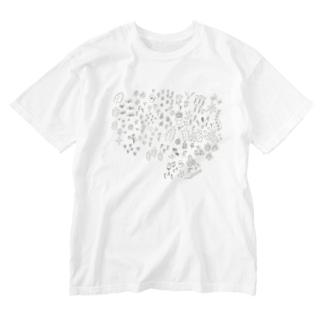 flower garden Washed T-shirts