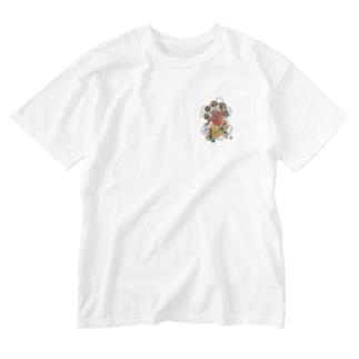 Raijin Skate T-shirts Washed T-shirts