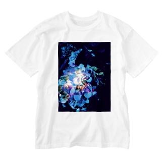紫陽花II Washed T-shirts