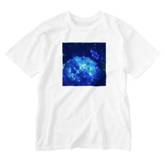 紫陽花 Washed T-shirts