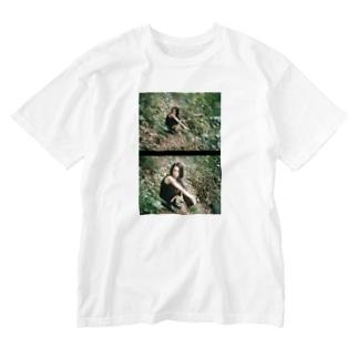 あめあがり、たかおさん。 Washed T-shirts