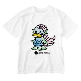 【CAFE Kiitos × AMABIE】シリーズ Washed T-shirts