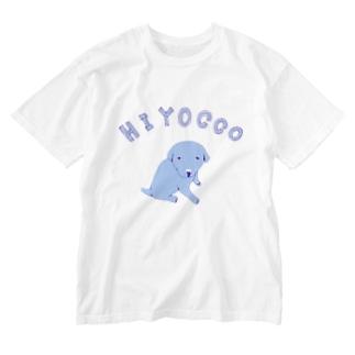 ひよっこ Washed T-shirts