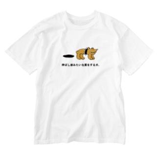 飼い主の責務 Washed T-shirts