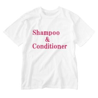 シャンプー コンディショナー Washed T-shirts