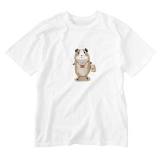 コロッケさん Washed T-shirts