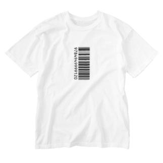ITANJIのバーコード Washed T-shirts