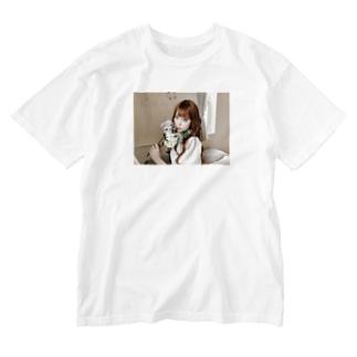 藤城アンナ×ともまつりかのウォッシュTシャツ Washed T-shirts