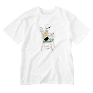 昼をふかやして(原案) Washed T-shirts
