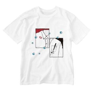 水に流そう Washed T-shirts