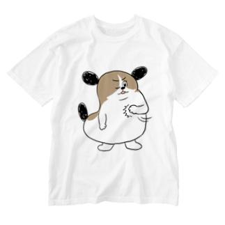 もじゃまるおまかせ Washed T-shirts