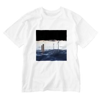 moekoishiguroのscenecollage#3 Washed T-shirts