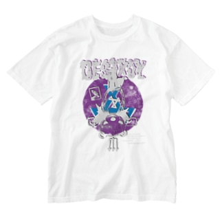 DESTROY purple Washed T-shirts
