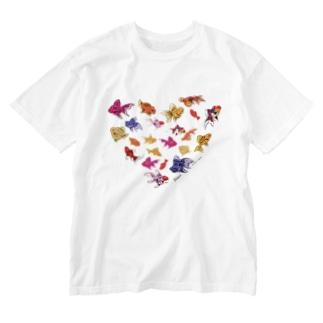 金魚's Washed T-shirts