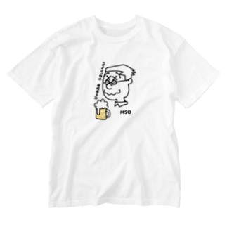 びゃあうまいMSO_ウォッシュTシャツ Washed T-shirts