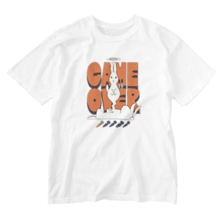 GAME OVER Washed T-shirts