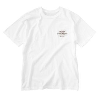 ロゴ Washed T-shirts
