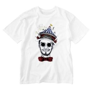 STUDIO PORTMAN, inc.のスッキリくん Washed T-shirts