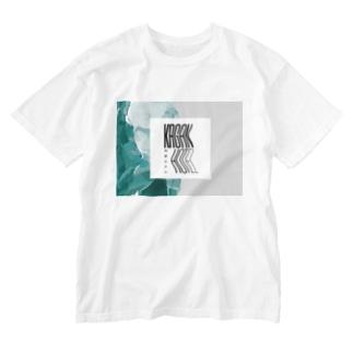 kaganhotel stone design goods Washed T-shirts