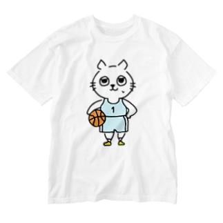 バスケットボール(1番) Washed T-shirts