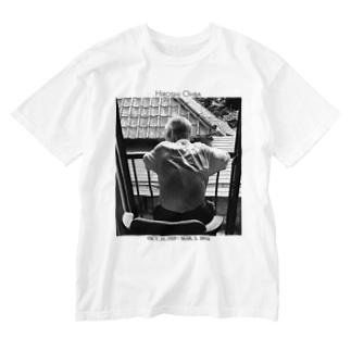 祖父 Washed T-shirts
