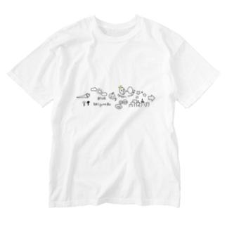 ラクガキ Washed T-shirts