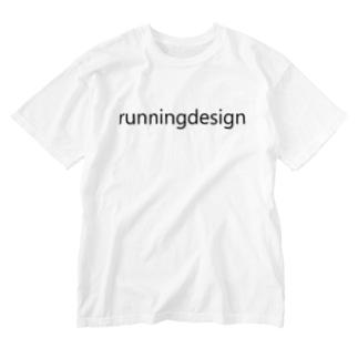 nrunningdesignアイテム Washed T-shirts