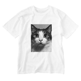 ゆべし2 Washed T-shirts