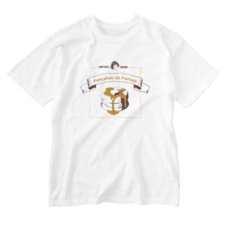 ママンのパンケーキ Washed T-shirts