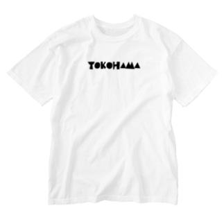 YOKOHAMA Washed T-shirts