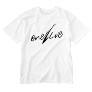one-dive Washed T-shirts