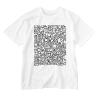 ひま暇お絵描き ① Washed T-shirts