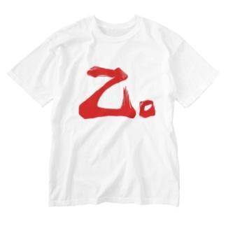 乙。 Washed T-shirts