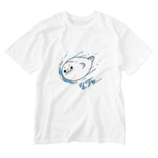 バイカルシワロケット Washed T-shirts