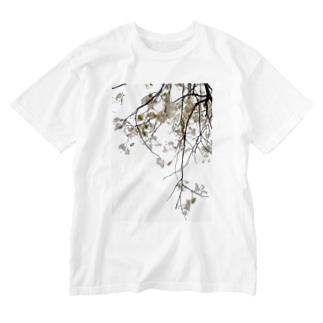FLOWERleaf Washed T-shirts