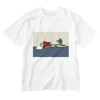 ええ香りや Washed T-shirts