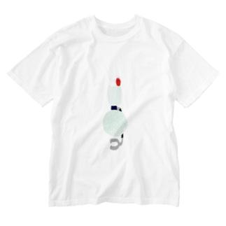 サイフォン式メロンソーダ(色付き) Washed T-Shirt