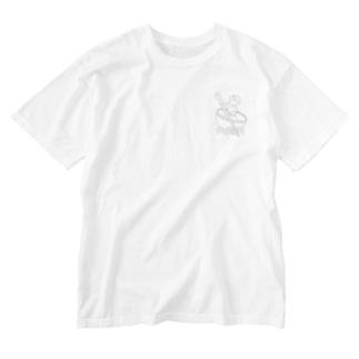 Studio512 ラーメン法師 Washed T-shirts