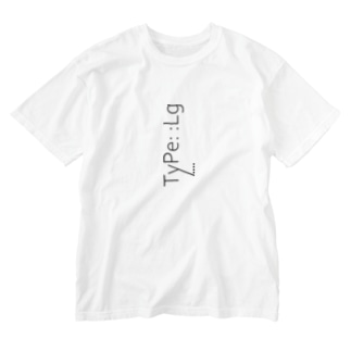 TyPe::Lg Washed T-shirts
