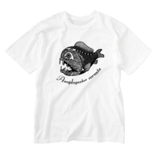 llotollのオニキンメ Washed T-shirts