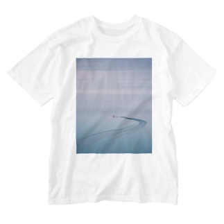 【Boat】 Washed T-shirts