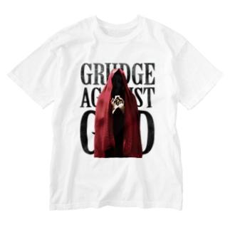 祈る赤い聖女 Washed T-shirts