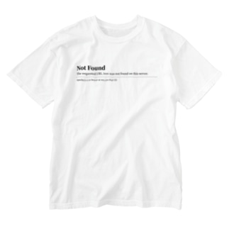NOT FOUND Washed T-shirts