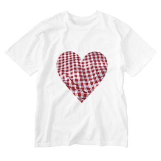 布団カバーの柄 Washed T-shirts