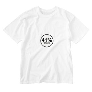 グリホ41% Washed T-shirts