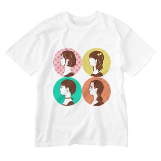 colorfulのチョコ詰め合わせ Washed T-shirts