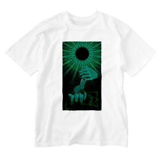 翠環日食 Washed T-shirts